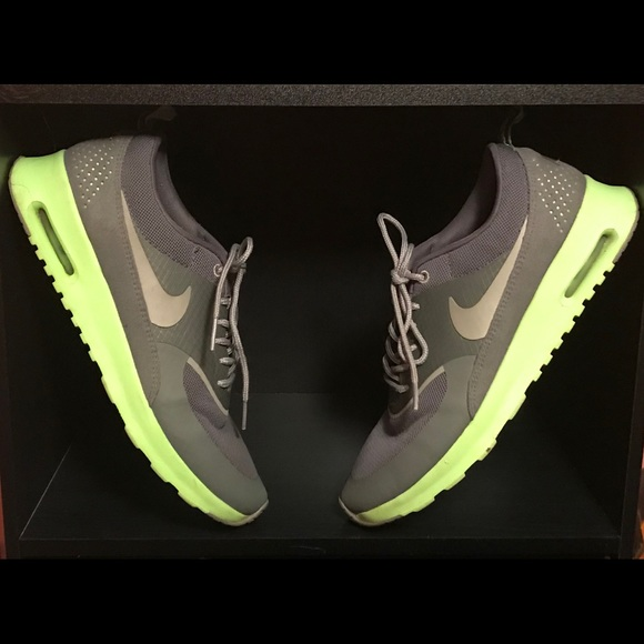 quality design 1214c 92d89 ️Nike AirMax Thea Grey   Neon Green
